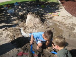 Constructing a river